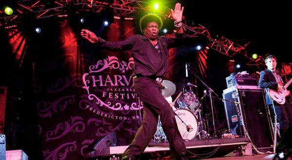 Charlest Bradley at Harvest Jazz and Blues Festival, Fredericton, New Brunswick Canada
