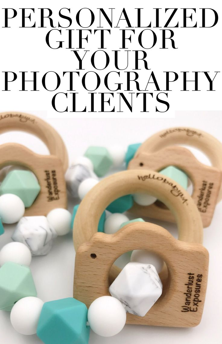 Personalized gift for your photography clients! Available in a discounted pack of ten. Hellobabyla.com