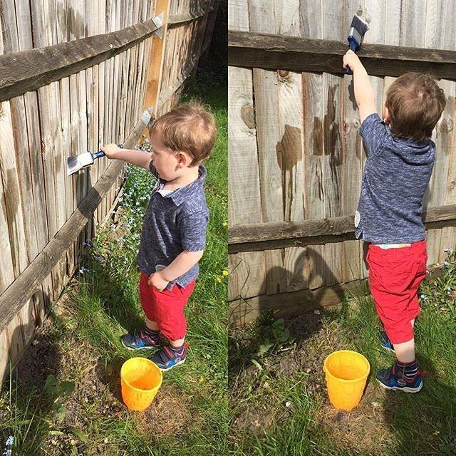Pour faciliter leurs vies, des pères et des mères utilisent souvent des trucs pour garder leurs enfants occupés et divertis!