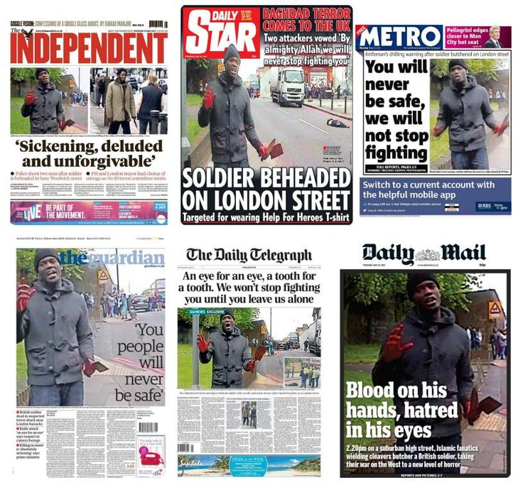Front Pages Of Newspapers On   The News Newspaper