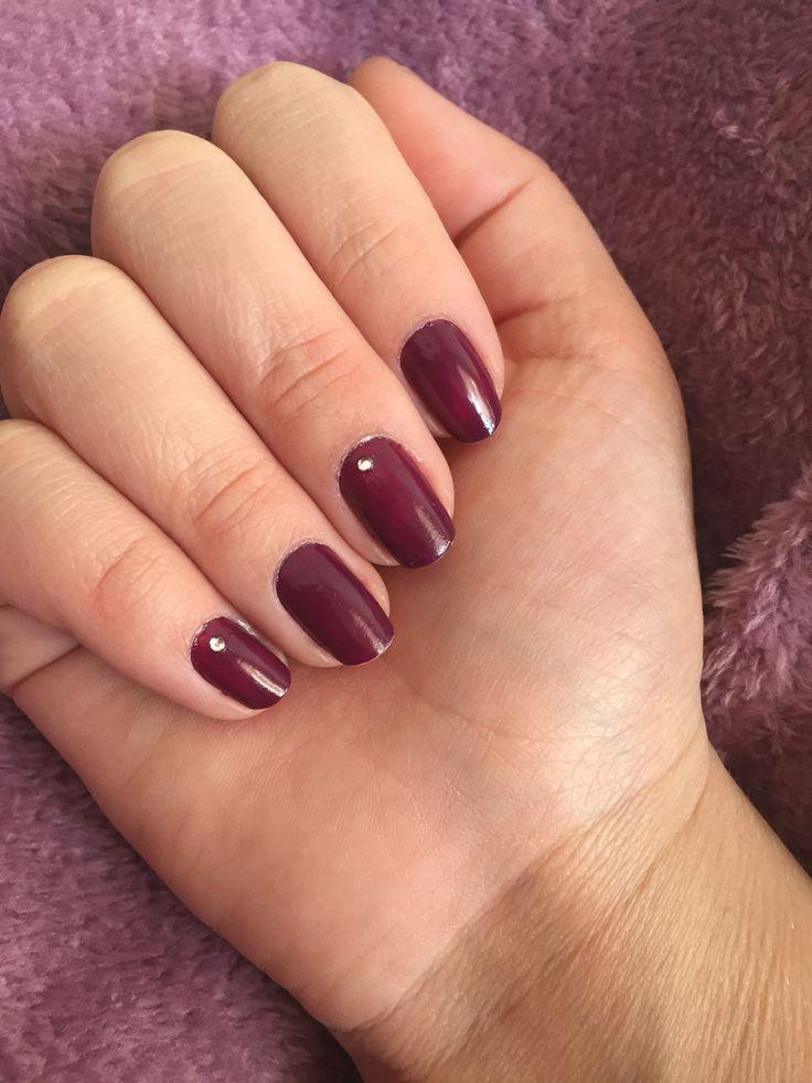 Purple with rhinestones