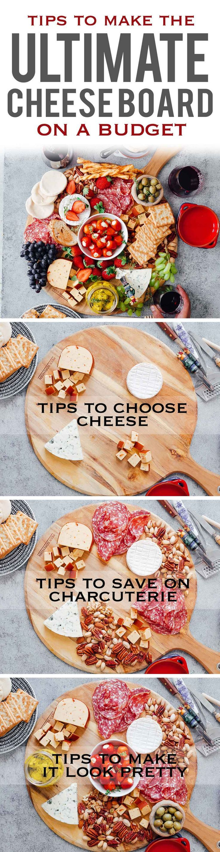 Learn how to make the Ultimate Wine and Cheese Board on a budget with simple tips and tricks. You'll be a DIY cheeseboard ninja by the end of this detailed post. This easy cheese platter is perfect for Christmas holidays, as a party appetizer for a crowd or for a romantic dinner date. Also detailed instructions for wine and cheese pairing via @my_foodstory