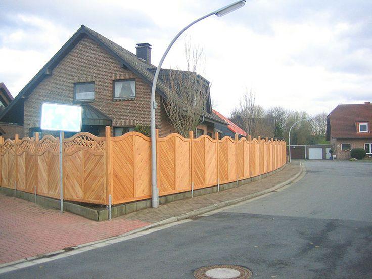 """Sichtschutzzaun Holz Aufbauen ~ 000 Ideen zu """"Sichtschutzzaun Holz auf Pinterest  Sichtschutzzaun"""