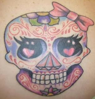 ♥ FANtÁSTICO MUNDO DA PRI ♥: Tatuagem Caveira - Skull Tattoo