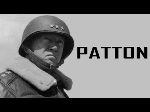 account of the life and achievements of general george patton Find out more about the history of george s patton, including videos,  british  troops emerged victorious from the first major tank battle at cambrai in france.