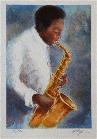 Al Wagiella: Charlie Parker sax