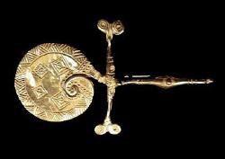 Etruscan brooch