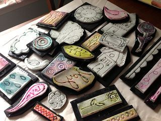 CREATING YOUR OWN FOAM STAMPS