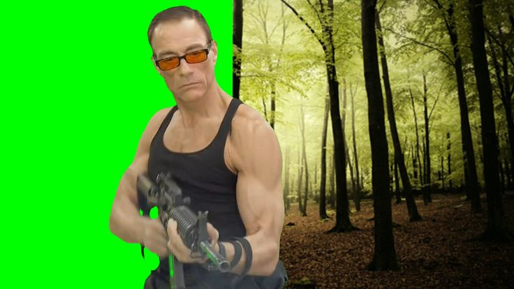 Edit your green screen video