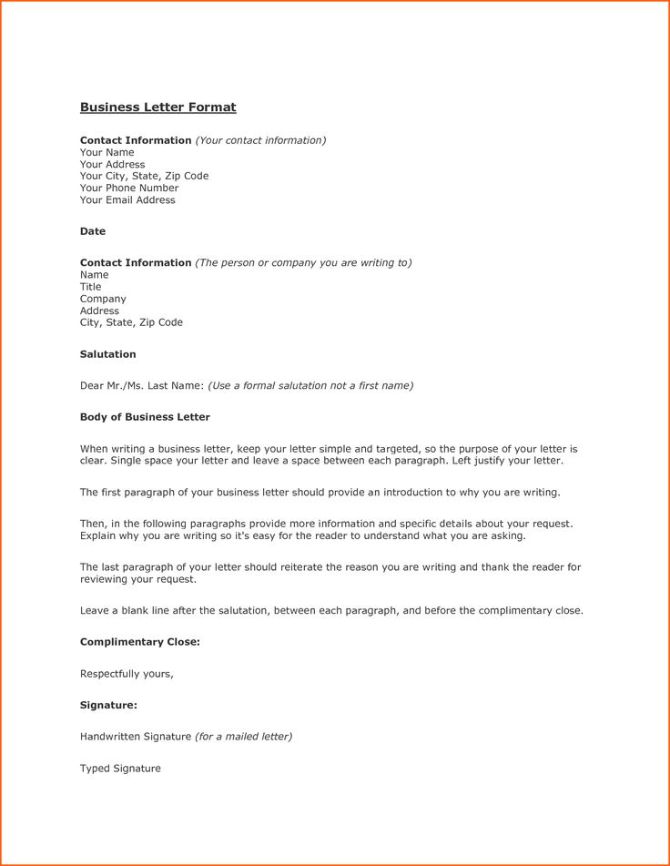 Business Letter Heading Greeting Sample Salutation Examples Word
