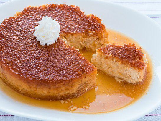 Rice Pudding Flan - QueRicaVida.com