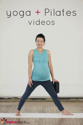 Great yoga and Pilates videos for pregnancy and for when baby arrives! Love that these are focused specifically for pregnant mothers.