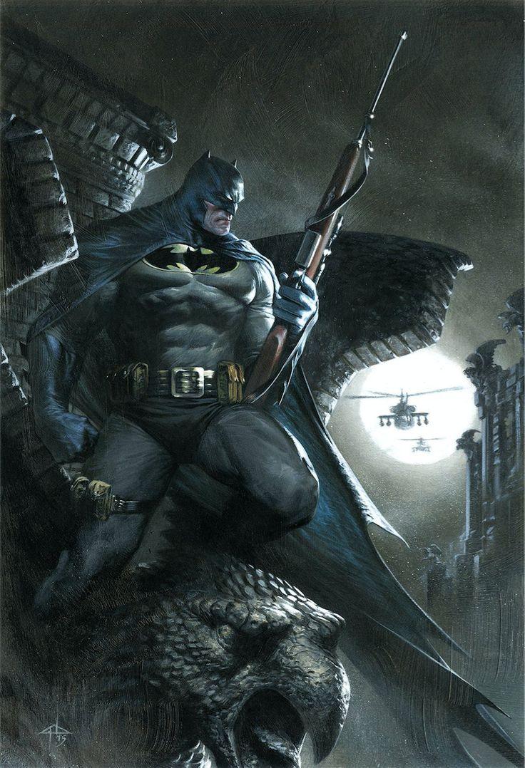 Dark Knight III: Master Race #3 Variant - Gabriele Dell'Otto