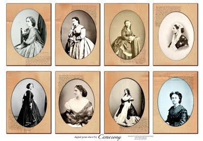 instant ancestors for your dollhouse
