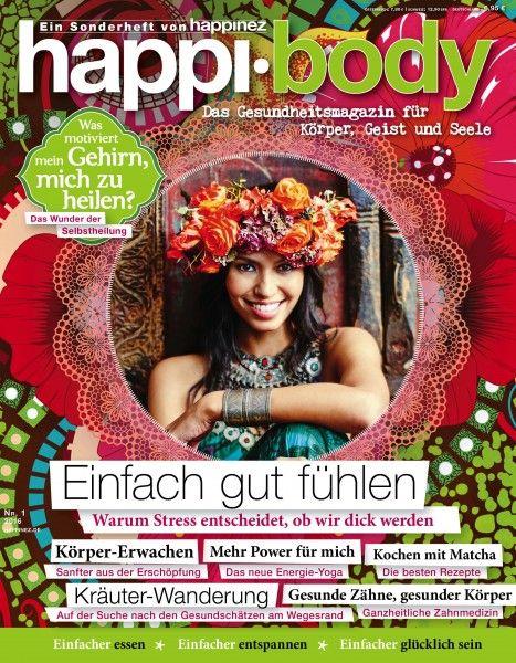 """Happinez Sonderheft 2/2016 """"Einfach gut fühlen"""""""