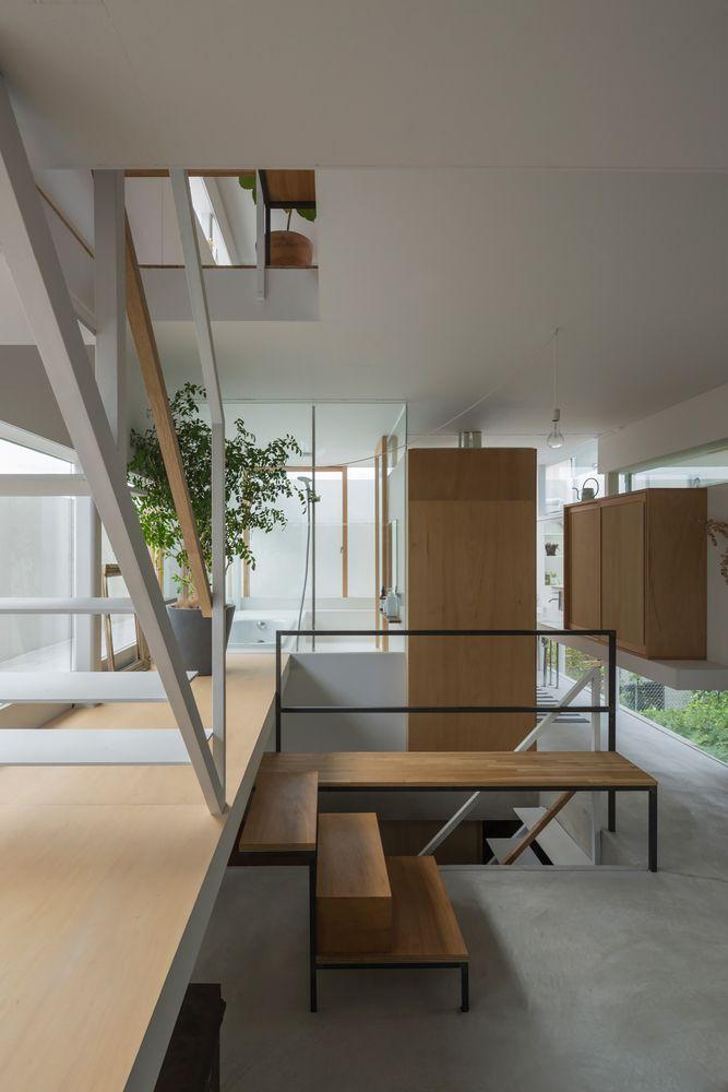 House in Toyonaka,© Shinkenchiku Sha
