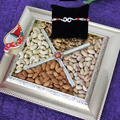 Buy Rakhi online from sendrakhi.com with same day delivery in Delhi at discounted price. Send Fresh Rakhi to Delhi to your loved one.