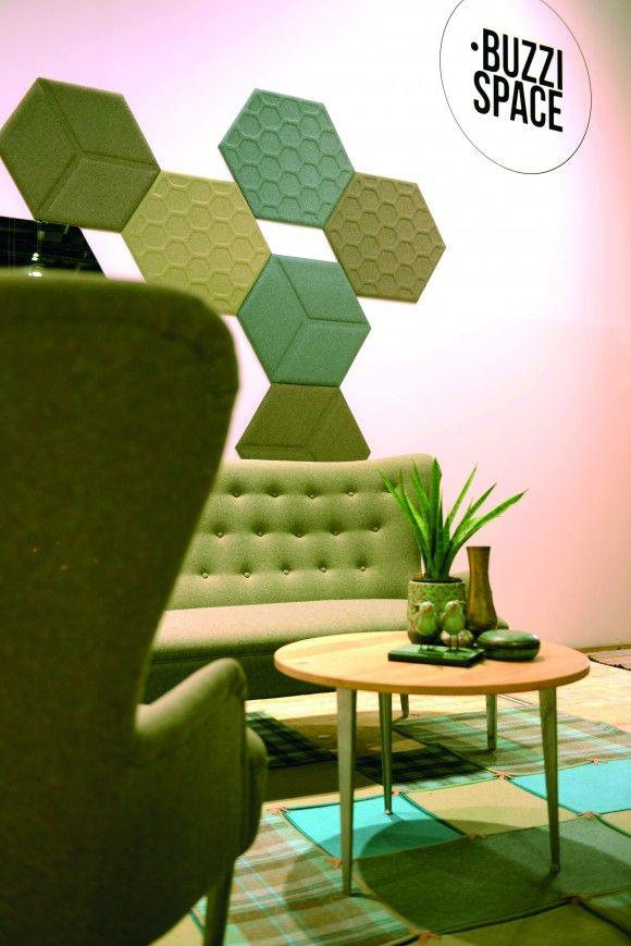 Akoestische wandpanelen van BuzziSpace | Orgatec 2014