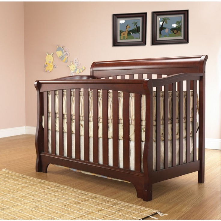 SB2 Florence 3-in-1 Convertible Crib - 526