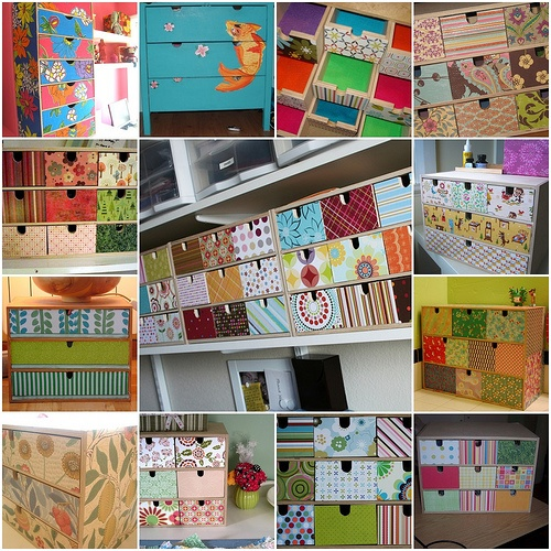 Devine IKEA Drawers by Roxy Creations, via Flickr