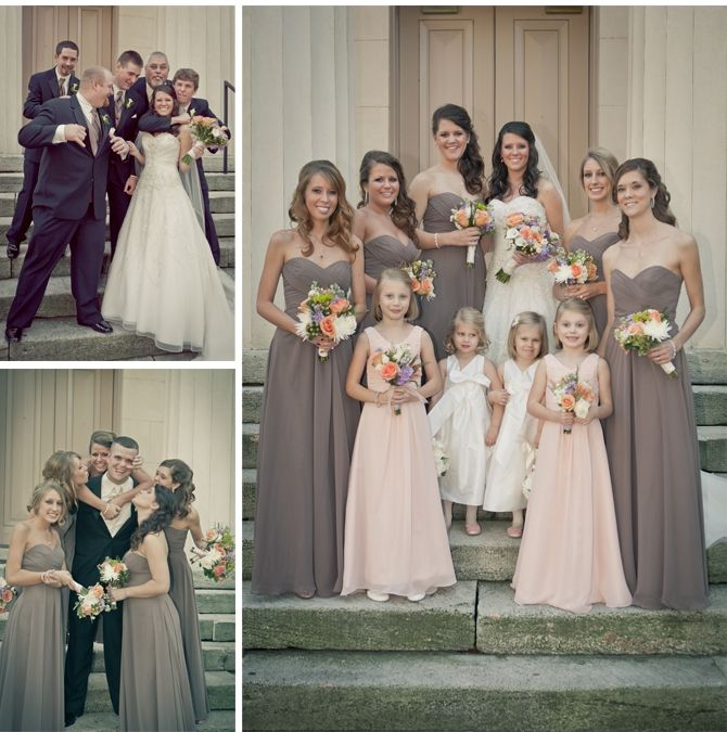 Jeanna Cliff S Sweet Southern Wedding Becoming Mrs Moore Pinterest Bridesmaid And Dresses
