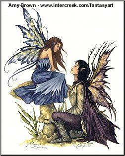 amy brown fairies | Amy Brown Fairy Art Gallery, cute fairy paintings, fairy fantasy art