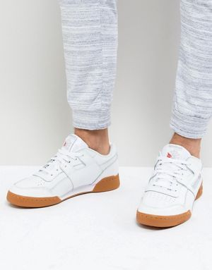 66022c0c173 Reebok Workout Plus NT Trainers In White CN2126