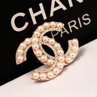 シャネル 真珠 ブローチ 女性向け 制服 アクセサリー 高級 レディース ファッション用品
