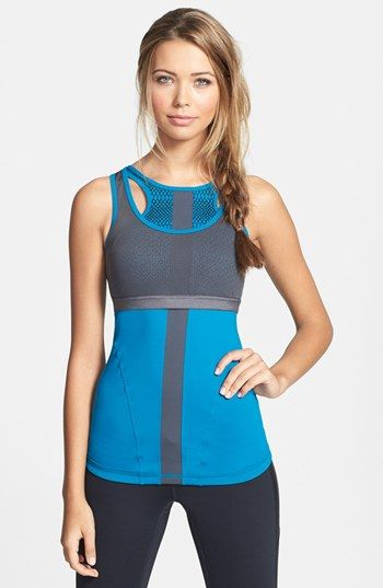 This Zella Double Layer Tank is perfect for the female no gi jiu jitsu grappler. It will keep you fresh and worry free on the bjj mats!