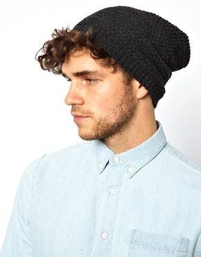469,83  Мешковатая шапка-бини фактурной вязки ASOS