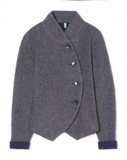 Asymmetrical jacket - WINTER HOLIDAY - WOMAN