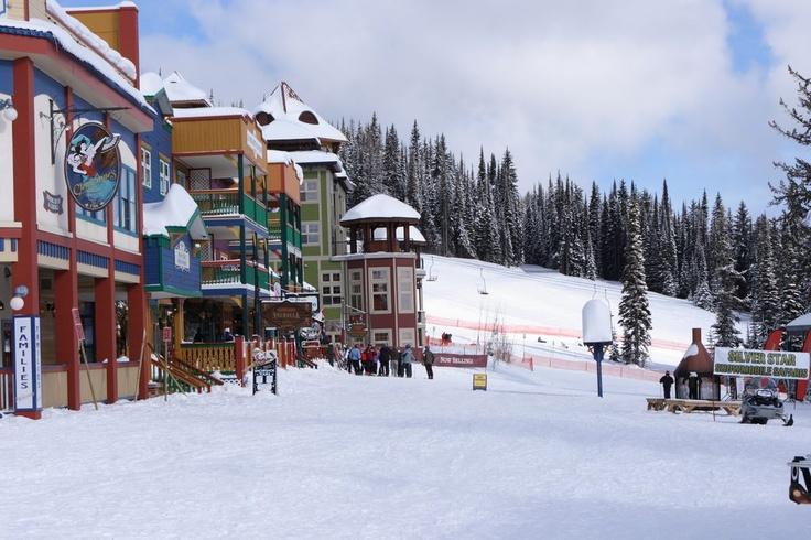 Silver Star Ski Resort, Vernon BC. 2005.