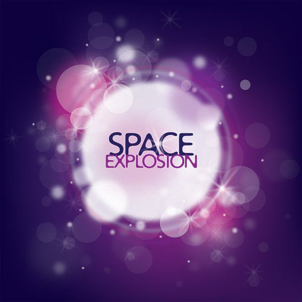 Space Explosion Free Vector
