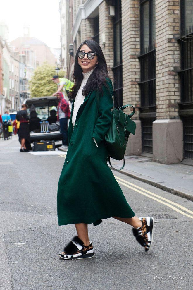 Уличная мода: Уличный стиль недели моды в Лондоне сезона весна-лето 2016