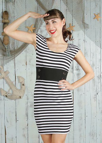 Nautical Mini Dress