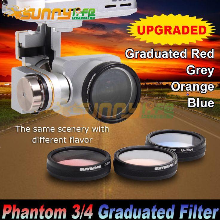 Sunnylife DJI Phantom 4/ 3 Advanced/ Professional/ Standard Camera Polarized Filters Graduated Filters Grey/ Red/ Orange/ Blue♦️ B E S T Online Marketplace - SaleVenue ♦️👉🏿 http://www.salevenue.co.uk/products/sunnylife-dji-phantom-4-3-advanced-professional-standard-camera-polarized-filters-graduated-filters-grey-red-orange-blue/ US $5.52