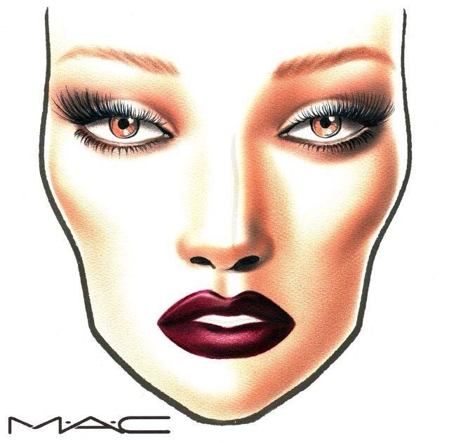 best 10 mac face charts ideas on pinterest face charts