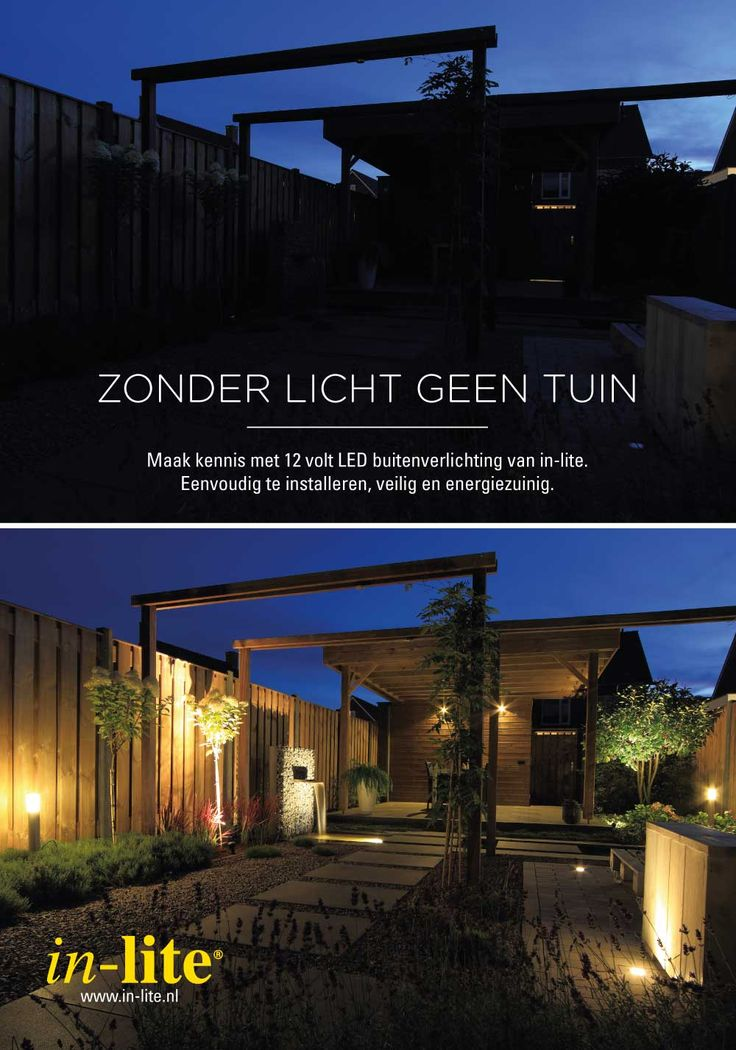 10 best Tuinverlichting images on Pinterest | Exterior lighting ...