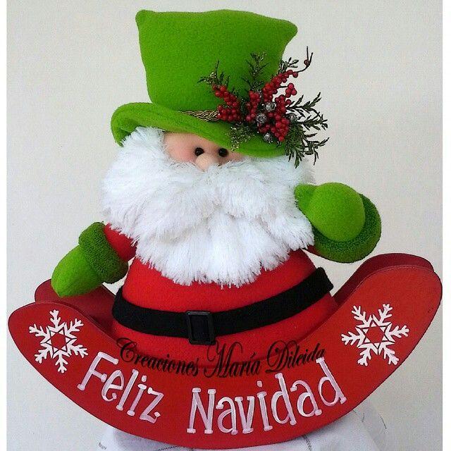 Santa sombrero de copa