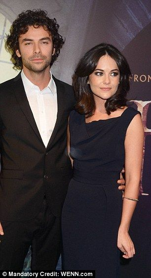 Aidan Turner gushes about girlfriend Sarah Greene, but who is she? #dailymail