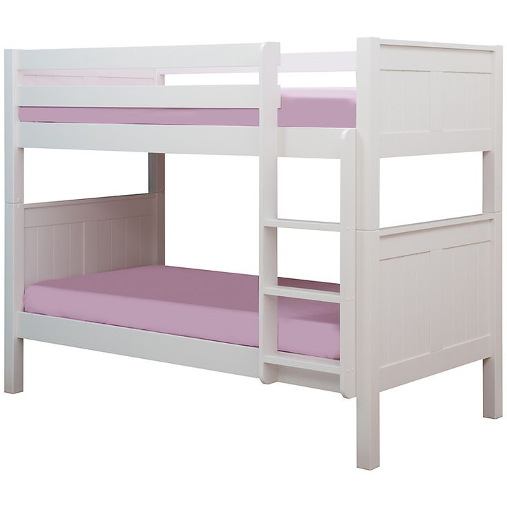 Stompa Classic Bunk Bed Available In A White Finish This Is Full Sized Which Allows You To Storage Drawers And