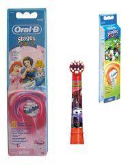 Braun Oral-B Lasten vaihtoharjat - kaikki kuvat käy.