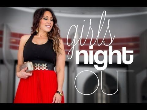Girls Night Out: Hair, Makeup & Outfit
