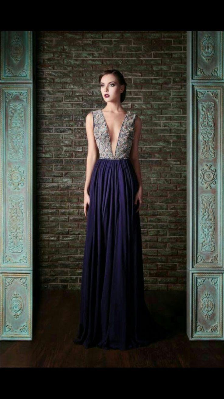 7 besten Vestidos noche Bilder auf Pinterest | Lange kleider ...
