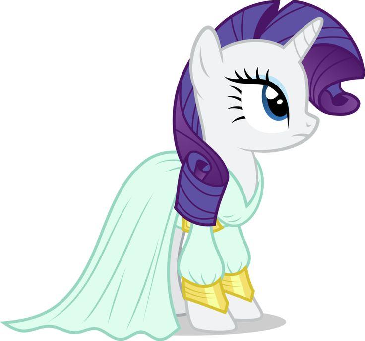 MLP. Rarity's dress from Rarity Investigates!!!! Season 5!!!