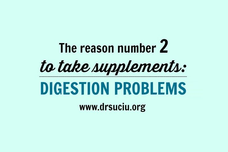 Picture Reason number 2 to take supplements - drsuciu
