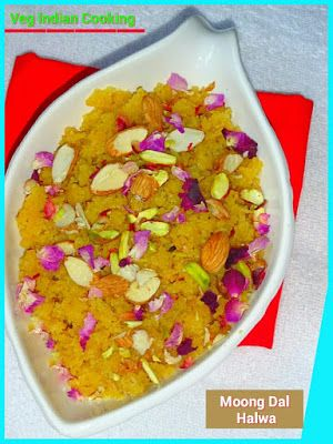 Moong Dal Halwa  Happy Navrati to all my friends. Today's recipe is Navratri special Moong Dal Halwa.. Sharing step by step recipe with pictures of each step.   #indiancuisine #indianrecipes #INDIANFOOD  #Navratri #sweets #moongdal #halwa #foodblogger #indiansweets #diwali
