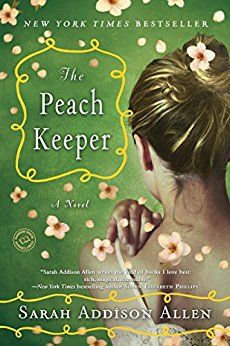 The Peach Keeper by Sarah Addison Allen // Two women with grandmothers who were best friends discover each other and themselves in this secret-keeper-generational type story. I skipped thru a little bit of the PG13ness but I love SAA's quirky magical realism.