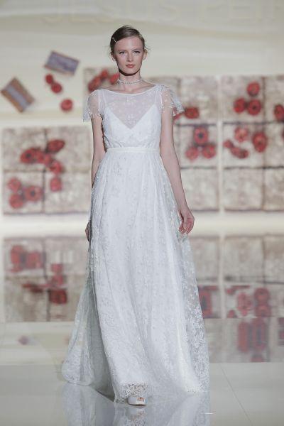 Vestidos de novia con encaje 2017: Luce sutil, delicada y elegante Image: 26