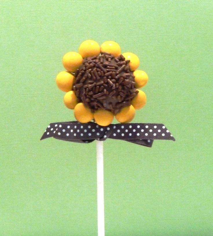 Flower Cake Balls : Best 25+ Flower cake pops ideas on Pinterest